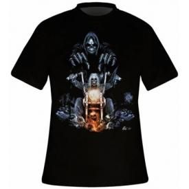 T-Shirt Mec DARK WEAR - Road To Hell Glow