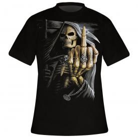 T-Shirt Mec Spiral DARK WEAR - Bone Finger