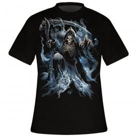 T-Shirt Mec Spiral DARK WEAR - Ghost Reaper