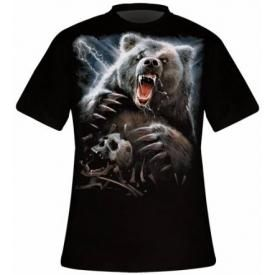 T-Shirt Mec Spiral DARK WEAR - Bear Claws