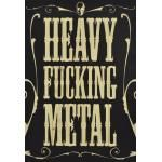 Plaque Murale DIVERS - Heavy F*** Metal