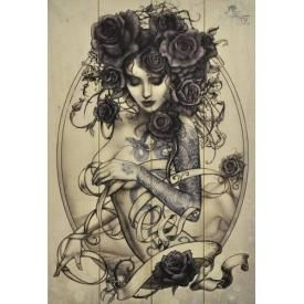 Plaque Murale ALCHEMY GOTHIC - Lady Roses