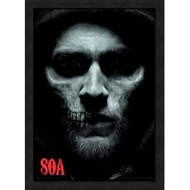 Affiche Sous Cadre SONS OF ANARCHY - Jax Skull