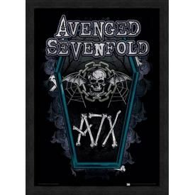 Affiche Sous Cadre AVENGED SEVENFOLD - Chain Coffin