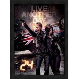 Affiche Sous Cadre 24 HEURES CHRONO - Live Another Day