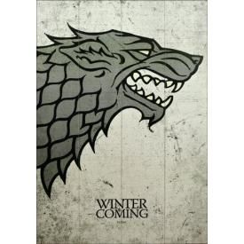 Plaque Murale GAME OF THRONES - Winter Is Coming