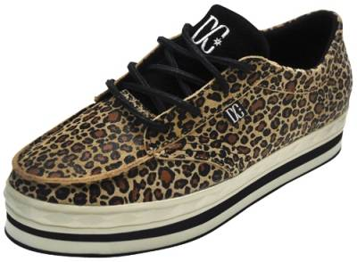 chaussures nana dc shoes creepers leopard baskets rock a gogo. Black Bedroom Furniture Sets. Home Design Ideas