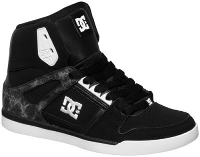chaussures nana dc shoes rebound slim high blk baskets rock a gogo. Black Bedroom Furniture Sets. Home Design Ideas