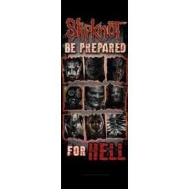 Drapeau de Porte SLIPKNOT - Prepared For Hell