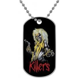Plaque Militaire IRON MAIDEN - Killers