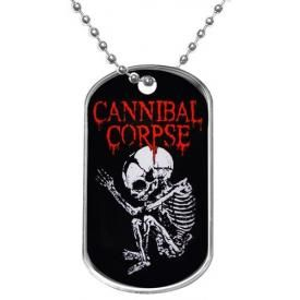 Plaque Militaire CANNIBAL CORPSE - Foetus Logo