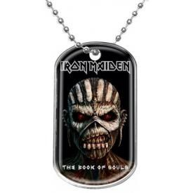 Plaque Militaire IRON MAIDEN - The Book Of Souls