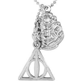 Collier HARRY POTTER - Crest & Hallows Dog Tag