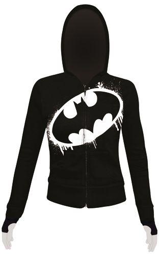 Image de Sweat Zippé Nana BATMAN - Batman Paint Logo