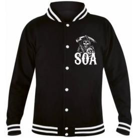 Veste Mec SONS OF ANARCHY - Classic Reaper Teddy