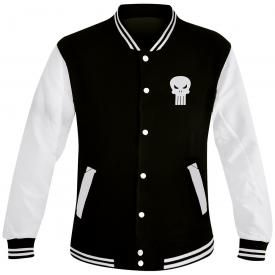 Veste Teddy Mec THE PUNISHER - Logo