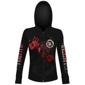 Sweat Zippé Femme THE WALKING DEAD - Kill Or Die