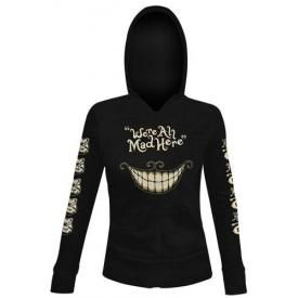 Sweat Capuche Femme ALICE IN WONDERLAND - Mad Mouth