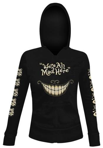 Image de Sweat Capuche Femme ALICE IN WONDERLAND - Mad Mouth