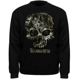Sweat Mec THE WALKING DEAD - Skull
