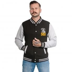 Veste Teddy Homme SONS OF ANARCHY - Orange Reaper