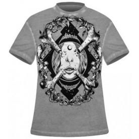 T-Shirt Mec DISTURBIA - Bone Idol
