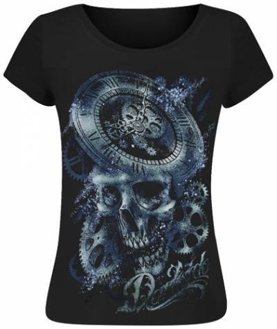 tee shirt femme darkside clockwork t shirts rock a gogo. Black Bedroom Furniture Sets. Home Design Ideas