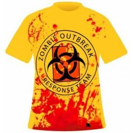 T-Shirt Mec DARKSIDE - Zombie Outbreak