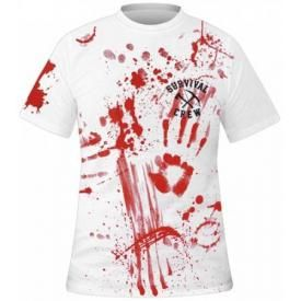 T-Shirt Mec DARKSIDE - Zombie Killer White