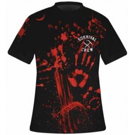 T-Shirt Mec DARKSIDE - Zombie Killer Black