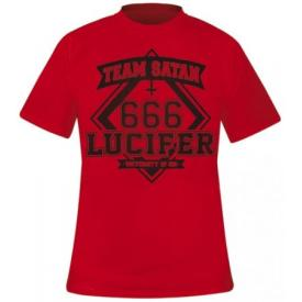 T-Shirt Mec DARKSIDE - 666 Lucifer