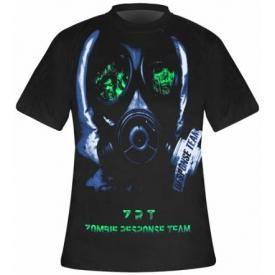 T-Shirt Mec DARKSIDE - Zombie Mask