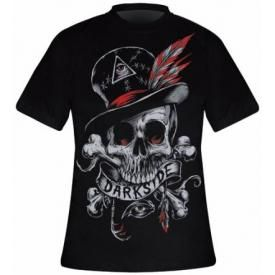 T-Shirt Mec DARKSIDE - Voodoo Skull