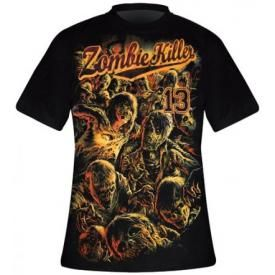 T-Shirt Mec DARKSIDE - Zombie Killer Red