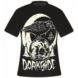 T-Shirt Mec DARKSIDE - Skull Crow