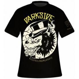 T-Shirt Mec DARKSIDE - Top Hat Wolf