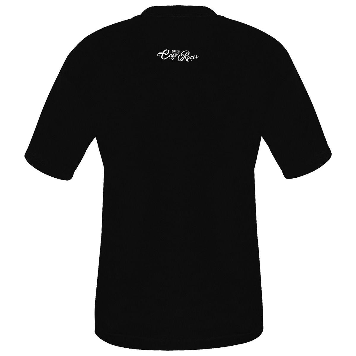 t shirt mec darkside cafe racer t shirts rock a gogo. Black Bedroom Furniture Sets. Home Design Ideas