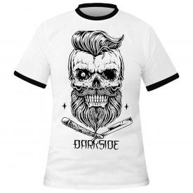 T-Shirt Mec DARKSIDE - Bearded Skull