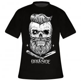 T-Shirt Homme DARKSIDE - Bearded Skull Black