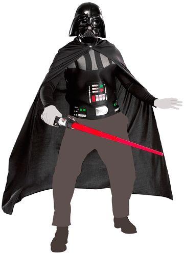 d guisement star wars dark vador costume d guisements rock a gogo. Black Bedroom Furniture Sets. Home Design Ideas