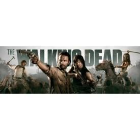 Door Poster THE WALKING DEAD - Banner