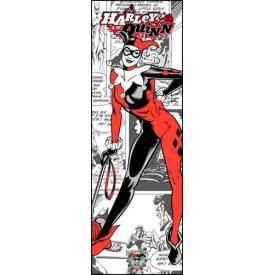 Door Poster BATMAN - Harley Quinn Comic