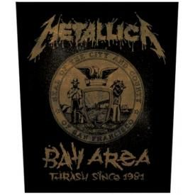 Dossard METALLICA - Bay Area Seal