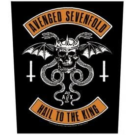 Dossard AVENGED SEVENFOLD - Biker Hail To The King