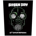 Dossard GREEN DAY - Gas Mask
