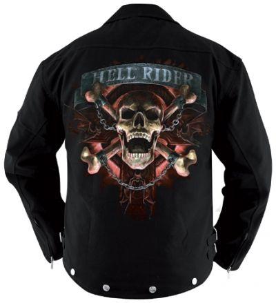 Blouson Spiral TATTOO WEAR - Hell Rider - Rock A Gogo 36a4ac2f656a
