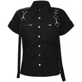 Chemise Nana DEAD THREADS - Black Rings