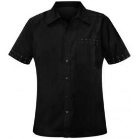 Chemise DEAD THREADS - Black Eyelets