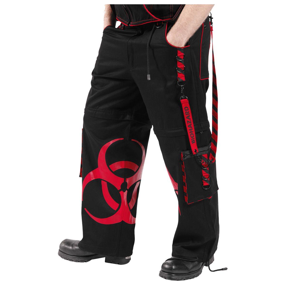 Dead Threads Homme Noir Goth Punk morte Pantalon Boucle Chaîne Pantalon