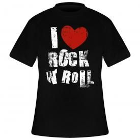 T-Shirt DIVERS - I Love Rock N Roll